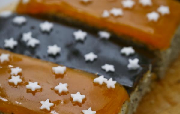 Špaldovo-makový koláč slivkový/marhuľový