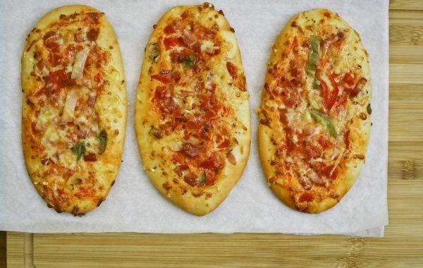 Mini Pizza so salámou