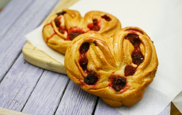 Srdiečko malinové bez laktozy