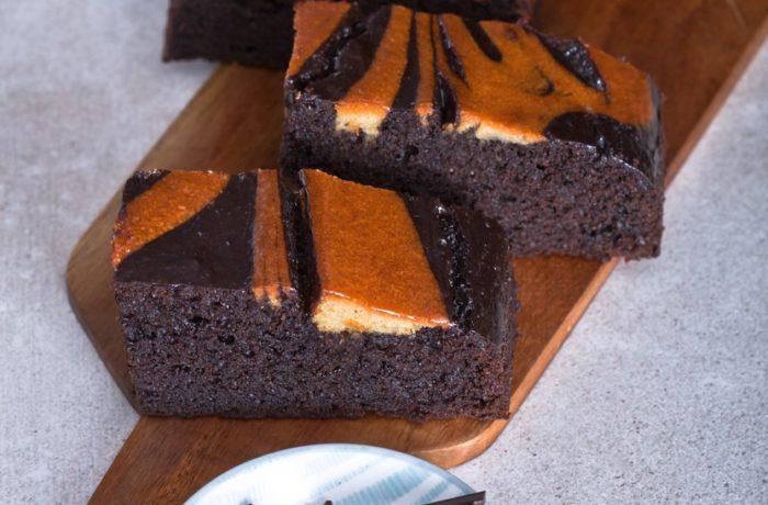 Kávový brownie
